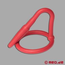 Cock Plug – Plug pénien en silicone - rouge