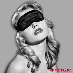 Bandeau pour les yeux en satin noir