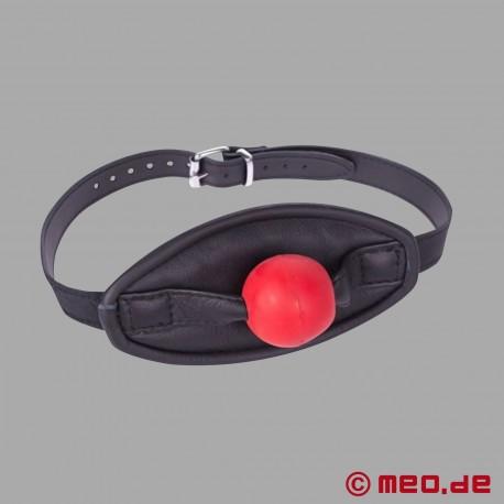 Roter Ballknebel Mundmaske