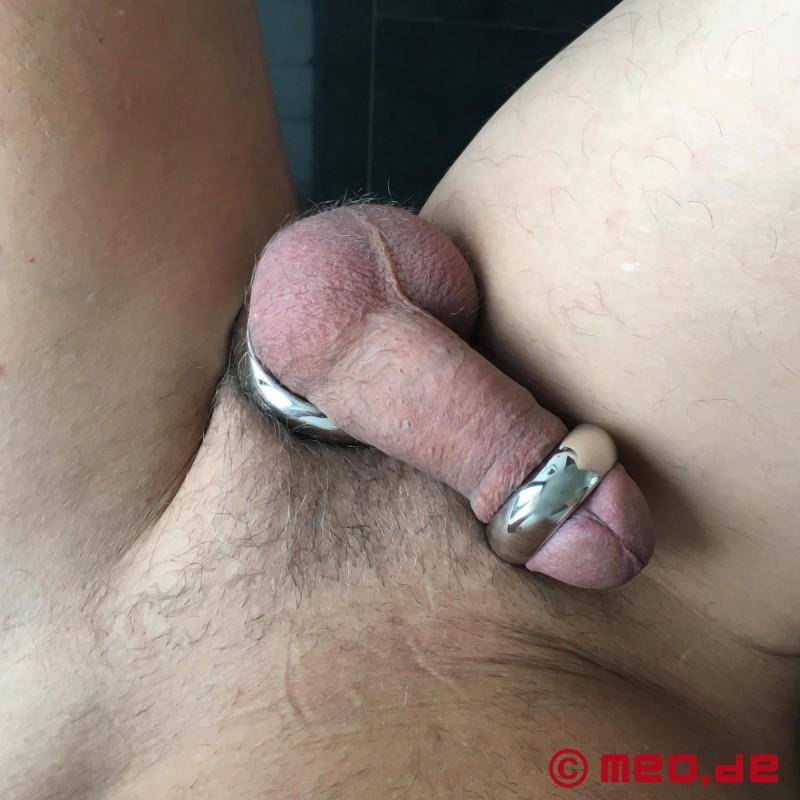 железное кольцо на член и яйца можем