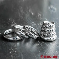 Donut Cock Ring ROYAL, Penis Ring, Stainless Steel Glans Ring
