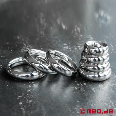 Donut Cock Ring ROYAL, Penis Ring, Stainless Steel Glans Ring