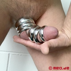 Donut Cock Ring IMPERIAL, Penis Ring, Stainless Steel Glans Ring
