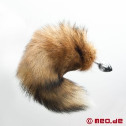 Pet Play Fox Tail Butt Plug