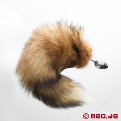 Plug anal Queue de renard pour Pet Play