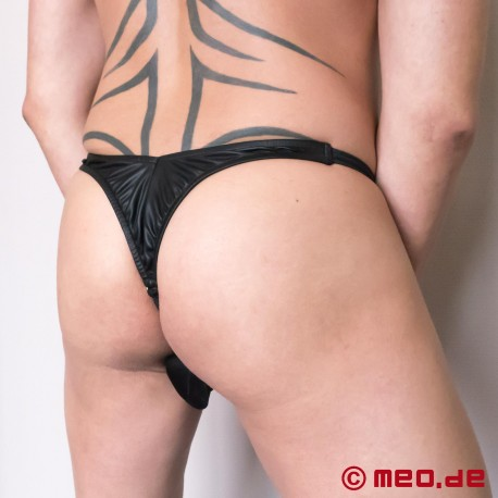 Supercharged Thong avec Plug Anal