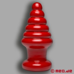American Bombshell Destroyer Buttplug Cherry