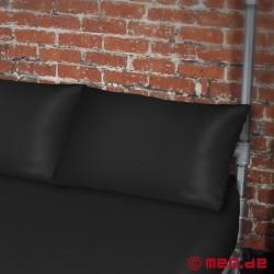 Funsheet Plus – Taie d'oreiller noire – Sheets of San Francisco