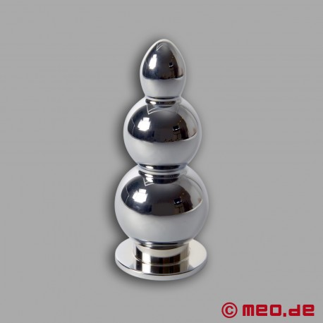 Amoremeo Triple Shot Butt Plug Made out of Metal