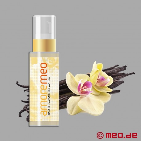 Gel de massage Kissable d'AMOREMEO - Vanille