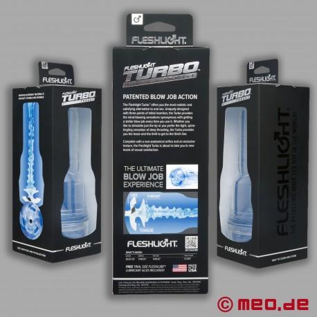 Turbo Blue Ice – Masturbateur Fleshlight de Fleshlight