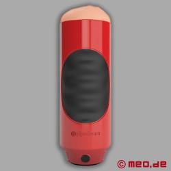 Mega Grip Vibrating Stroker - Masturbator mit Mund