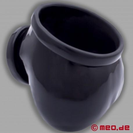 Toylie Latex Penis Sheath Ben, noir
