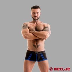 Fetish Gear Core Boxer Brief in Black / Royal