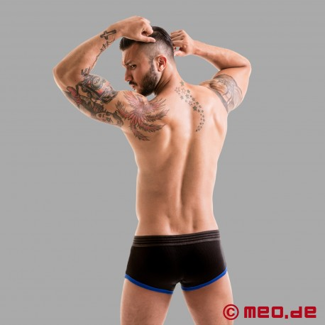 Fetish Gear Core Boxer Brief in Black / Royal