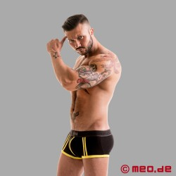 Fetish Gear Core Boxer Brief in schwarz / gelb