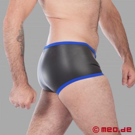 Boxer Hipster en néoprène - noir/bleu