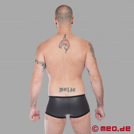 Boxer Hipster en néoprène - noir
