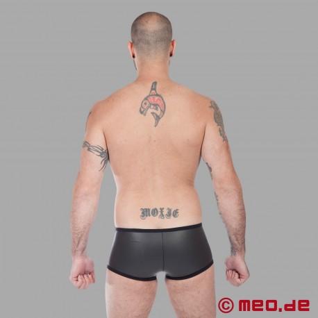 Fetish Neoprene - Neoprene Hipster Boxer - Black