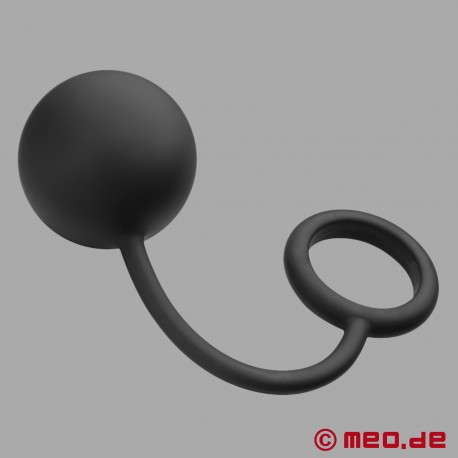 Weighted Anal Ball with Cockring