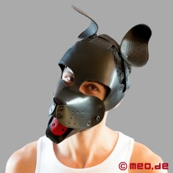 WOOF! Muzzle Leather