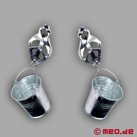 Bucket Clamps – Nippelklemmen mit Eimer