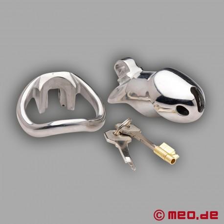 NoPacha Black Berlin X - Stainless Steel Chastity Belt for Men
