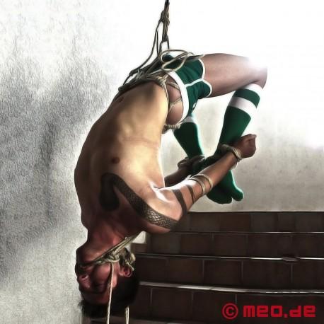 Anneau Shibari à triskel en inox