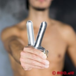 Giant anal spreader - Stainless steel speculum