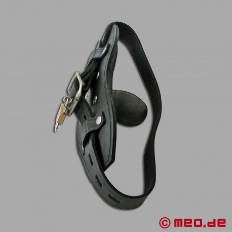 Bâillon verrouillable avec cadenas à minuterie