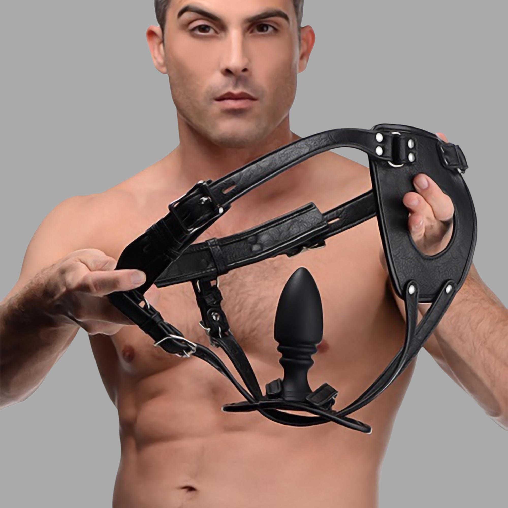 Analplug buy ass holster - anal plug harness from meo   anal plug