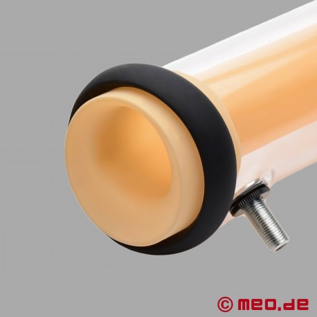 Accessory cylinder for the MEO milking machine