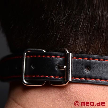 Bad Puppy bone gag - Black dog bone gag