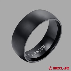 MEO Black Berlin Bague Titane