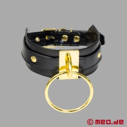Lady MEO – Halsband Ring der O – gold