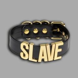 Lady MEO – Collier SLAVE doré