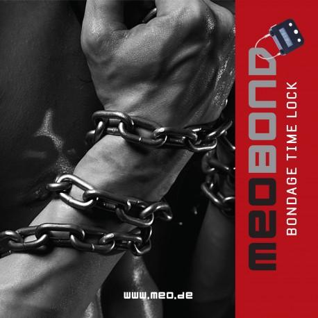 Serratura elettronica con blocco orario MEOBOND per Bondage & cintura di castità