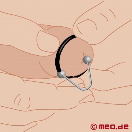 Anneau de gland avec frein à sperme 3.0 – Anneau de gland souple avec frein à sperme