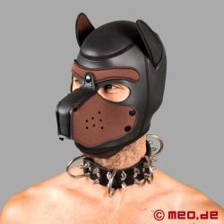 Collier de chien en cuir à pointes – Alpharüde (mâle dominant Alpha)