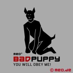 Bad Puppy Knochenknebel – weißer Hundeknochen-Knebel