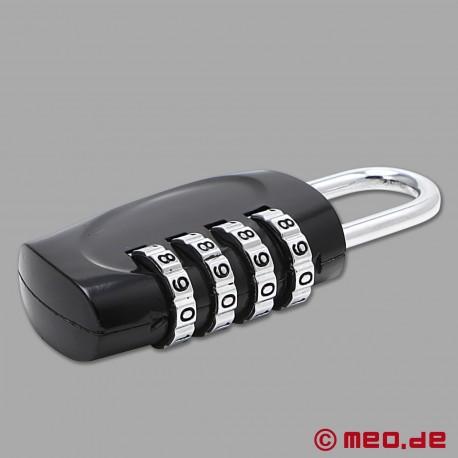 Padlock with number combination - Self-bondage combination lock