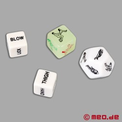 Jeu de dés érotique « Play & Fuck » de MEO