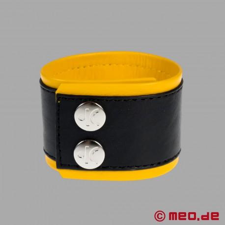 Bracciale in pelle, braccialetto fetish DISCTINT