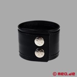 Bracelet en cuir, bracelet fétiche DISTINCT