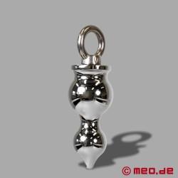 AMOREMEO Anal Pusher - Buttplug aus Metall