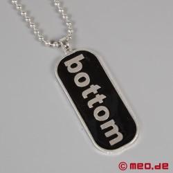 Halskette BOTTOM – Männerhalskette mit Anhänger