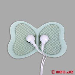 Butterfly electrodes for electro sex