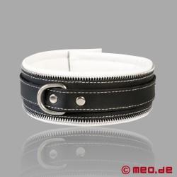 Collier de bondage Code Z noir/blanc