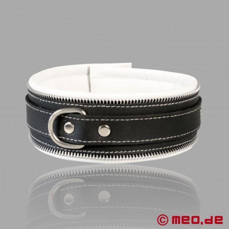 Code Z Bondage Collar black/white