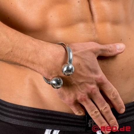 Euphoria bangle - Stainless steel fetish bracelet